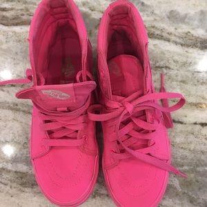 Vans Hot Pink High Top
